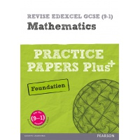 Revise Edexcel GCSE Mathematics Practice Papers Plus+: Foundation - ISBN 9781292096308