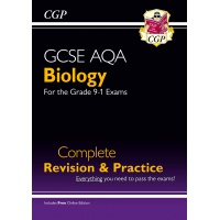 GCSE AQA Biology: Complete Revision & Practice - ISBN 9781782945833