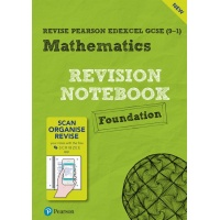 Revision Edexcel Mathematics GCSE Foundation Revision Notebook - ISBN 9781292264165